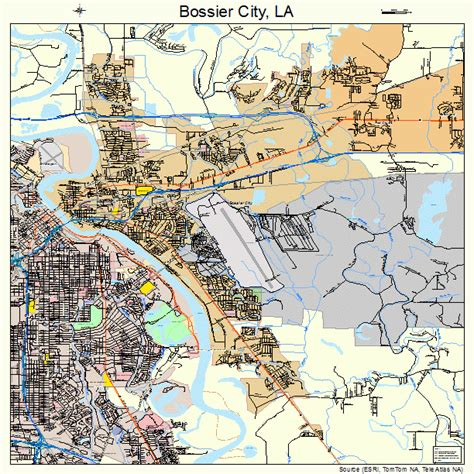 louisiana map bossier city bossier city la pictures posters news and on