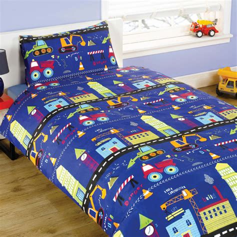 Digger Duvet Cover Diggers Blue Duvet Set Harry Corry Limited