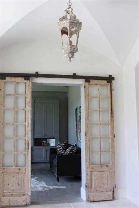 interior barn door designs modern and rustic interior sliding barn door designs