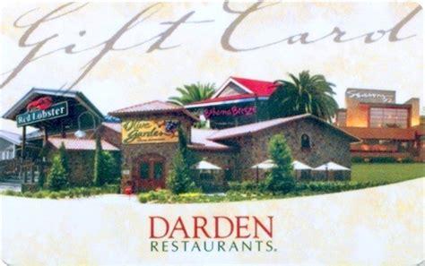 Darden Gift Cards Discount - darden restaurants gift cards review