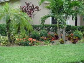 Tropical Planting Scheme - bloombety tampa landscape design ideas with glass window tampa landscape design ideas