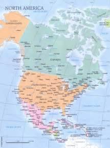 Nord e centro america stradario nord e centro america cartina