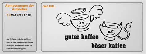 guter kaffee böser kaffee guter kaffee b 246 ser kaffee gr 246 223 e 60x36cm farbe schablone