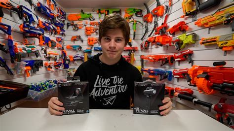 The New Rival dopest nerf attachments new rival kits