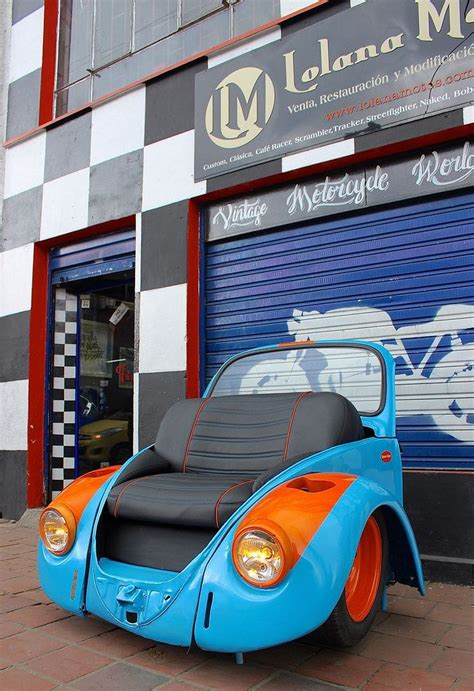 vw bug couch 17 best images about cool car part ideas on pinterest