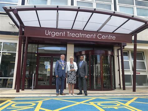 crawley hospital urgent treatment centre  transformed