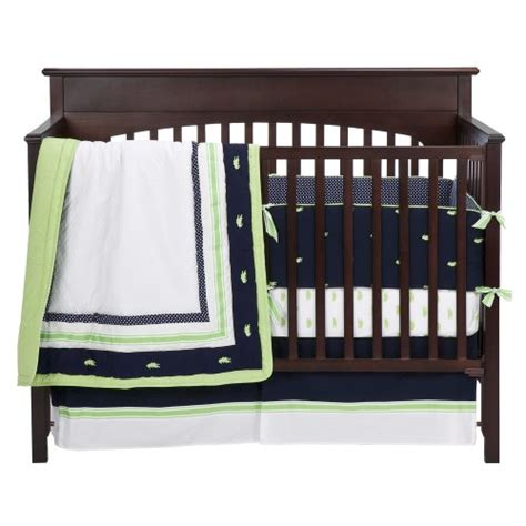 navy and green crib bedding low price on bananafish nantucket 4 pc crib bedding set