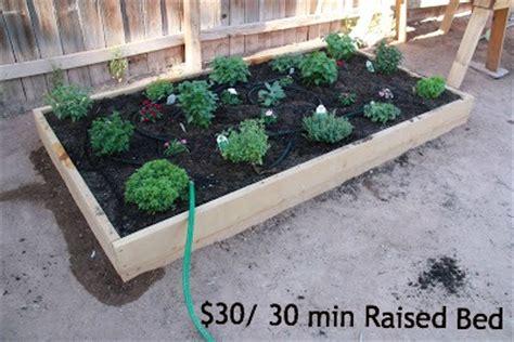 raised flower beds diy diy 30 raised flower bed in 30 minutes top diy ideas