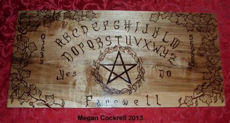 Handmade Ouija Boards - wood spirit board ouija board handmade on solid maple wood