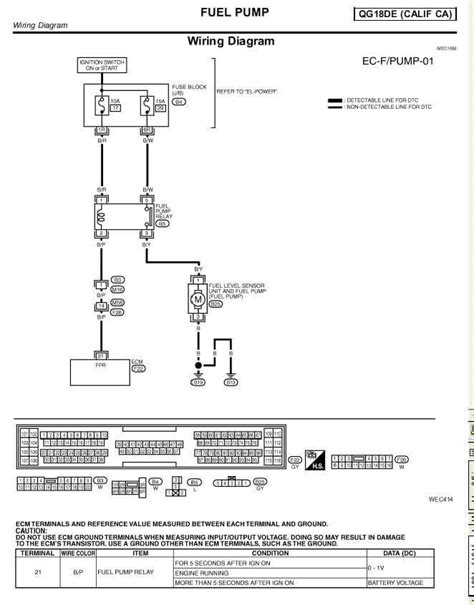 2001 nissan sentra wiring diagram wiring diagrams