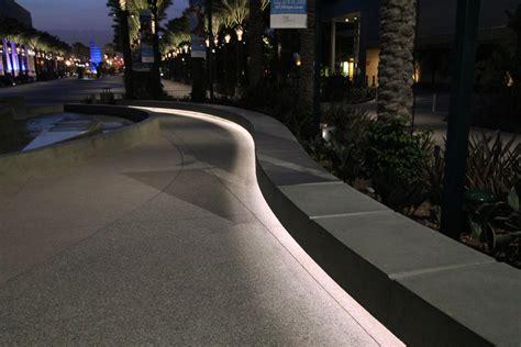 bench light anaheim convention center ilight technologies