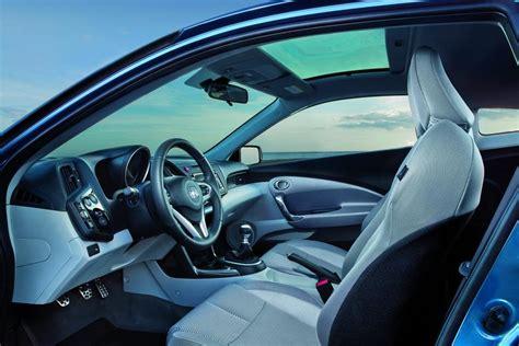 Honda Cr Z Hybrid Interior by 2011 Honda Cr Z Hybrid Review Specs Pictures Price Mpg