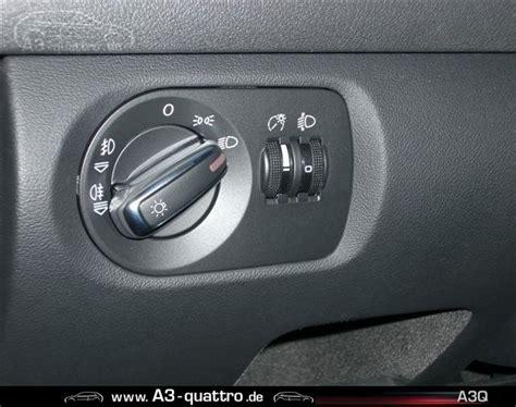 Audi A3 Lichtschalter by Lichtschalter Umbau Auf A3 Facelift Tt Lichtschalter