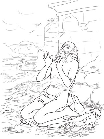 coloring pages for job in the bible job bible coloring pages coloring pages