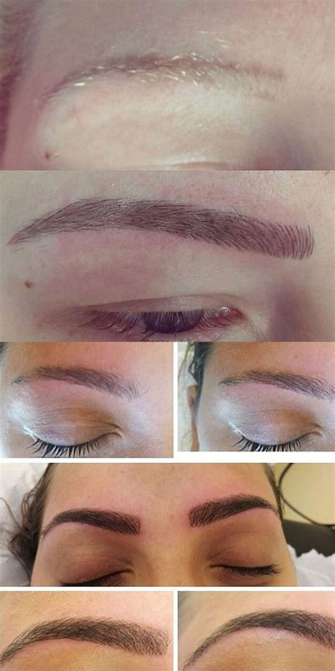 tattoo eyebrows process microblading everything you need to know brows