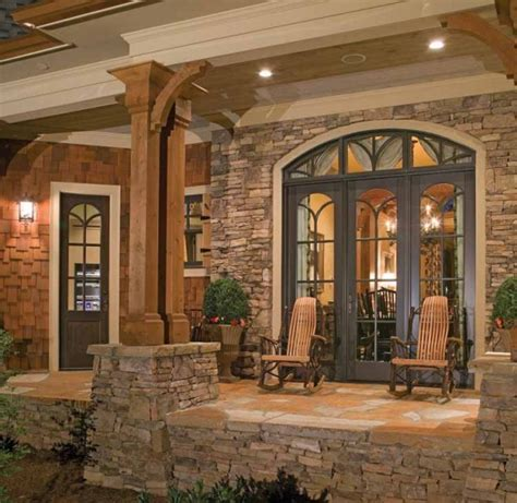 country style homes interior side porch breezeway of contemporary craftsman house