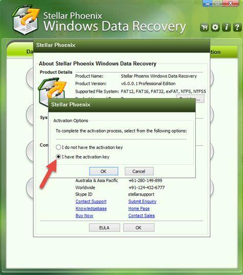 stellar phoenix windows data recovery 6.0 registration key crack
