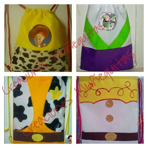 imagenes infantiles toy story morralitos dulceros infantiles toy story woody jessie buzz