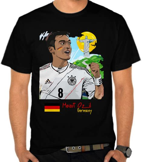 Kaos Germany Piala Dunia 2018 jual kaos mesut ozil germany world cup 2018 satubaju