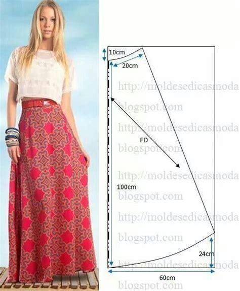 sewing pattern long skirt long skirt sewing pattern drafting pinterest
