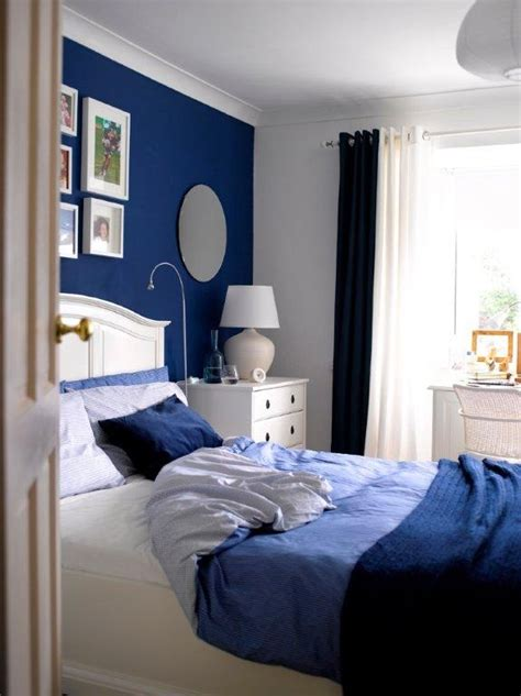 boys room accent wall royal blue accent wall bedrooms bluebedrooms home bedrooms boys room blue