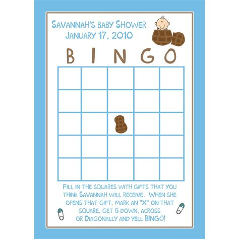 baby shower bingo template 301 moved permanently