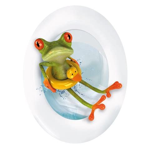 Wall Stickers For Adults cutest frog bathroom decor