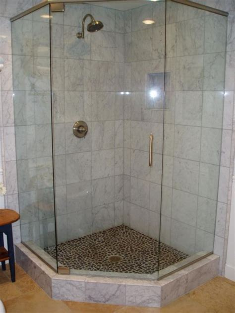 Small Bathroom Corner Shower Corner Showers For Small Bathrooms Idea
