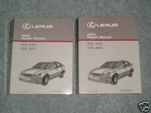 free service manuals online 1998 lexus gs parental controls 1998 2005 lexus gs300 service repair manual cd