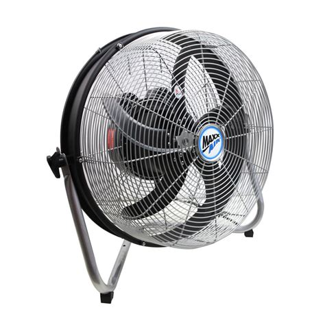 home depot floor fans on sale maxxair 18 in 3 speed floor fan with internal oscillation