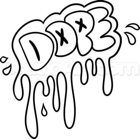 how to draw dope step by step graffiti pop culture