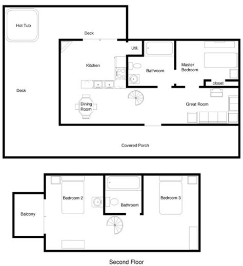 cabin layouts sackett s lake bluff cabins cabin layouts
