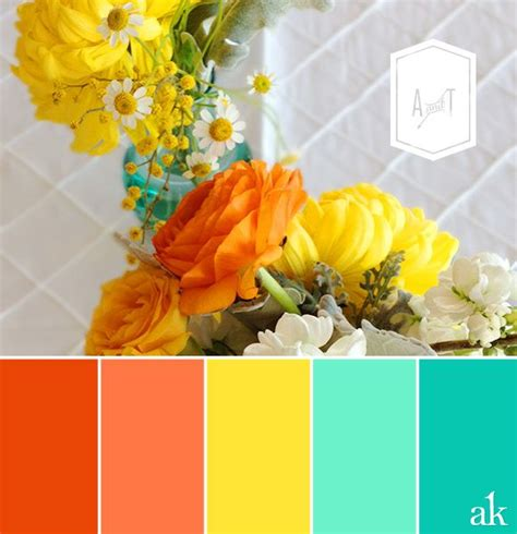 17 best ideas about bright color schemes on bright color palettes bright paint