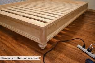How To Make A Platform Bed Frame With Drawers How To Make A Raised Platform Bed Frame Design Ideas For Home Or