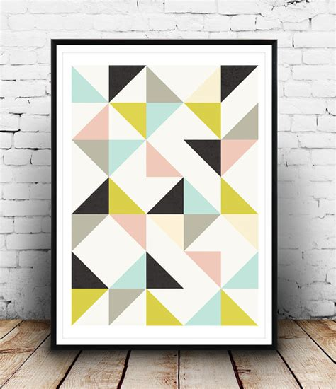 printable scandinavian print abstract poster abstract poster geometric poster nursery print abstract
