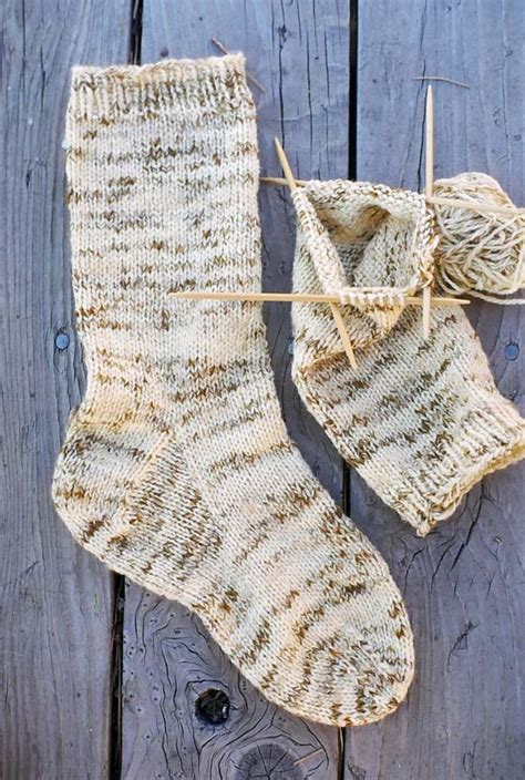 knitting pattern heavy socks 998 men s heavy weight boot sock knitting pure and simple