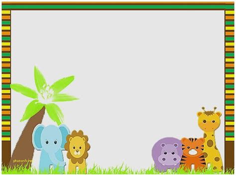 Baby Shower Invitation Elegant Jungle Theme Baby Shower Invitation Templates Jungle Theme Baby Safari Invitation Template Free