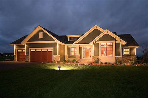 Craftsman Style Home Plans Designs Craftsman Style House Plan 1 Beds 1 5 Baths 1918 Sq Ft