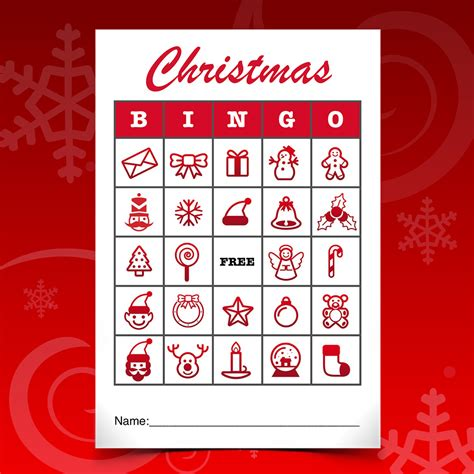christmas templates for apple pages pics for gt christmas bingo card template
