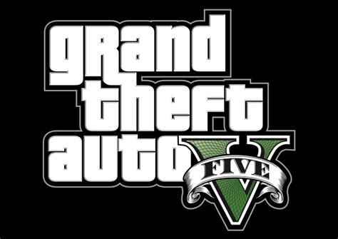 Gran Theft Auto 5 Logo by Grand Theft Auto 5 Logo Free Walpaper