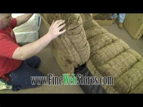 how to disassemble a couch yourself lane reclining sofa disassemble and assemble how to
