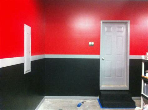 black interior paint 50 garage paint ideas for men masculine wall colors and