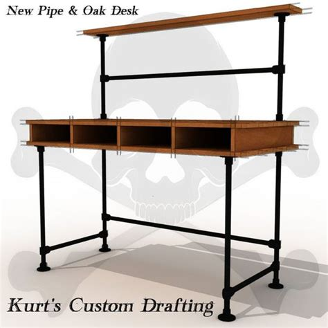 pipe computer desk see more industrial pipe desks at http www