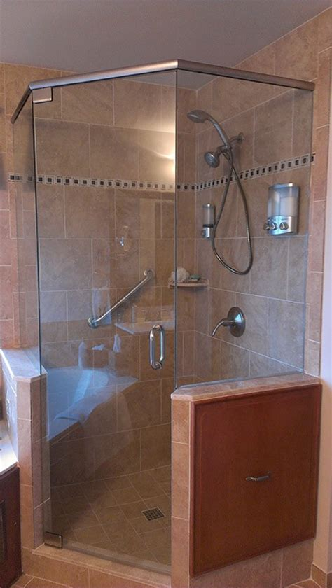 Neo Angle Shower Door Parts A Neo Angle Shower For A Space Saving Corner Shower Bath Decors