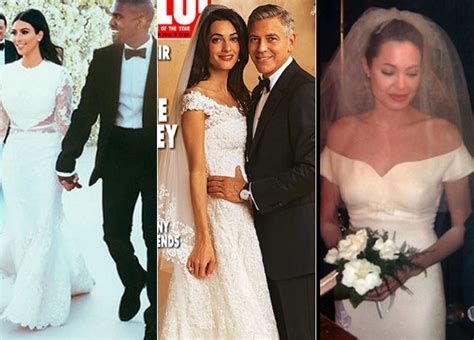 Celebrity Weddings 2014: All The Best Dresses From These