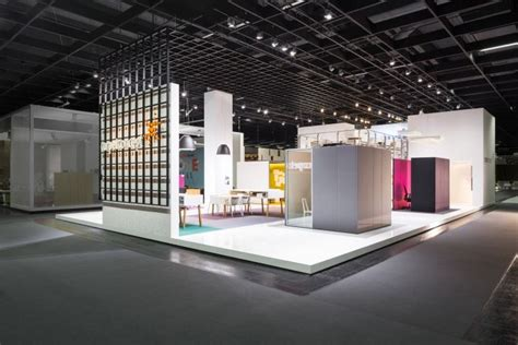 booth design germany carpet concept flagship stand at orgatec 2014 by