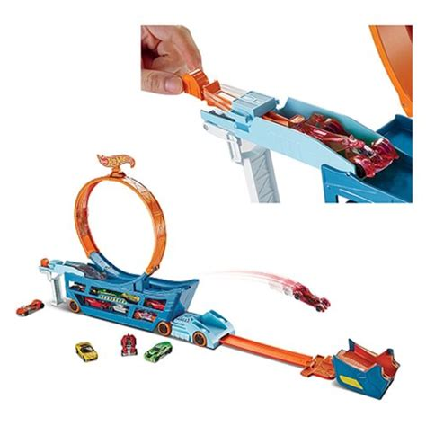 Hotwheel Stunt And Go wheels stunt and go truck playset mattel wheels playsets at entertainment earth