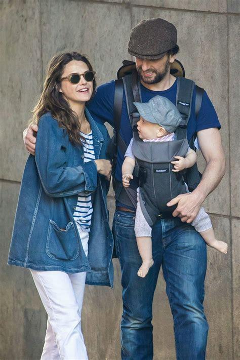 matthew rhys parents keri matthew and baby sam taking a stroll in brooklyn