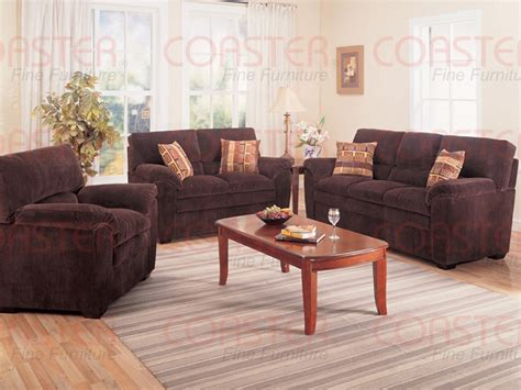 Corduroy Living Room Set Molly Chocolate Corduroy Fabric 2 Living Room Set By Coaster 502521s