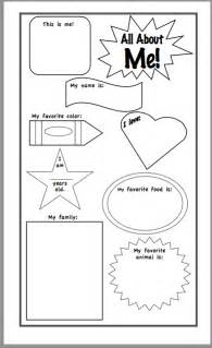 all about me template a curious class all about me and a freebie